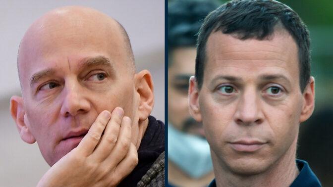 עיתונאי חדשות 12 עמית סגל וגיא פלג (צילומים: משה שי ואבשלום ששוני)
