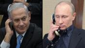 שליט רוסיה ולדימיר פוטין וראש ממשלת ישראל, בנימין נתניהו (צילומים: ממשלת רוסיה והדס פרוש)