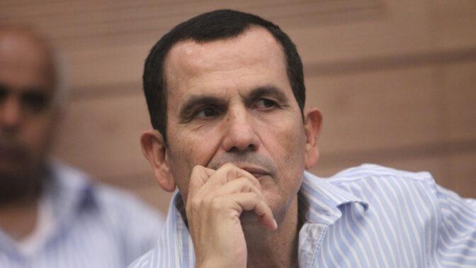 יעקב אדרי בכנסת באוקטובר 2012, בעת שכיהן כחבר-כנסת מטעם מפלגת קדימה (צילום: מרים אלסטר)