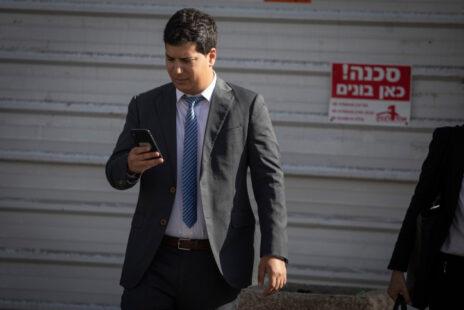 עמית חדד, אחד מעורכי דינו של ראש הממשלה בנימין נתניהו (צילום: הדס פרוש)