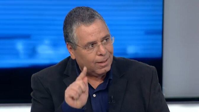 אלי ציפורי (צילום מסך מתוך שידורי ערוץ 20)
