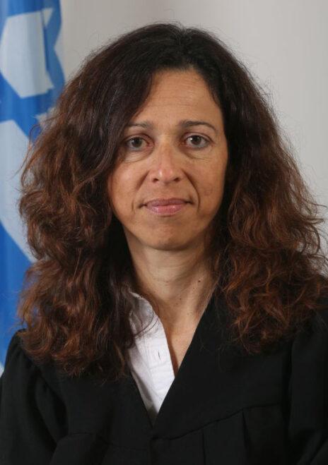 השופטת רות רונן (צילום: הרשות השופטת)
