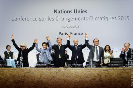 ועידת האקלים בפריז, 2015 (צילום: Arnaud Bouissou - MEDDE / cc-zero)