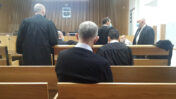 """ארנון (נוני) מוזס בבית-המשפט המחוזי בתל-אביב, 22.12.2020 (צילום: איתמר ב""""ז)"""