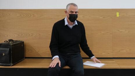 """ארנון (נוני) מוזס. בית-המשפט המחוזי בתל-אביב, 22.12.2020 (צילום: איתמר ב""""ז)"""
