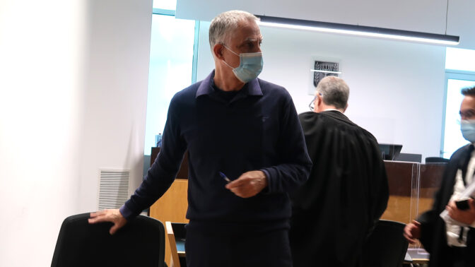 """ארנון (נוני) מוזס בבית-המשפט המחוזי בתל-אביב, 27.12.2020 (צילום: איתמר ב""""ז)"""