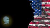 """גדי טאוב, טראמפ ותיאוריית הקונספירציה אובמהגייט (איור: """"העין השביעית"""")"""