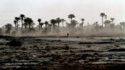 הלך צועד באזור הרי האטלס. מרוקו, מאי 1994 (צילום: נתי שוחט)