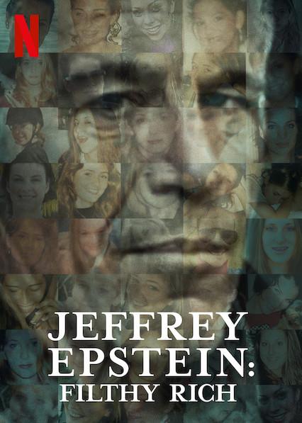דמותו של ג'פרי אפשטיין על כרזת הסדרה התיעודית של נטפליקס