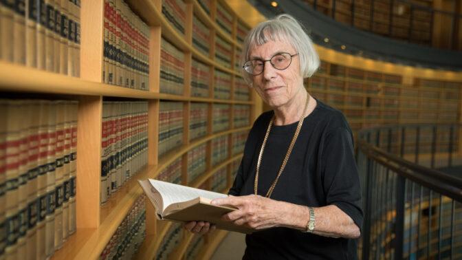 נשיאת מועצת העיתונות היוצאת, השופטת בדימוס דליה דורנר, בבית-המשפט העליון. יולי 2018 (צילום: נעם-ריבקין-פנטון)