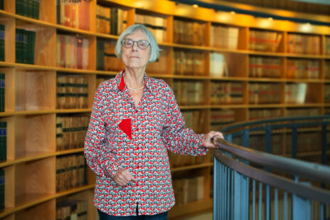 נשיאת מועצת העיתונות היוצאת, השופטת בדימוס דליה דורנר, בבית-המשפט העליון. פברואר 2019 (צילום: משה שי)