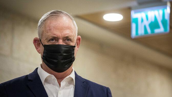 שר הביטחון בני גנץ (צילום: יונתן זינדל)