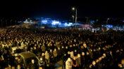 הלוויית אחמד חיג'אזי, שנורה למוות בטמרה, 2.2.2021 (צילום: שריה דיאמנט)