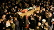 הלווית אחמד חג'אזי, שנרצח בטמרה, 2.2.21 (צילום: שריה דיאמנט)