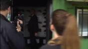 """כתבת """"ישראל היום"""" מוריה קור שואלת את השר אמיר אוחנה לאיזה פוליטיקאי היה מכוון נשק (צילום מסך)"""