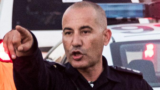 מפקד מחוז ירושלים של משטרת ישראל, דורון תורג'מן (צילום: יונתן זינדל)