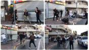 """כתב כאן 11 יואב זהבי והצלם רוליק נוביצקי, מותקפים ע""""י בידי בריונים יהודים בשכונת התקווה בתל-אביב, 13.5.21 (צילומי מסך)"""