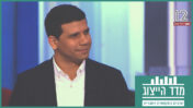 """מוחמד מג'אדלה ב""""אולפן שישי"""" של חדשות 12 (צילום מסך)"""