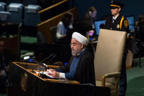נשיא איראן חסן רוחאני, מטה האומות המאוחדות בניו-יורק (אמיר לוי)
