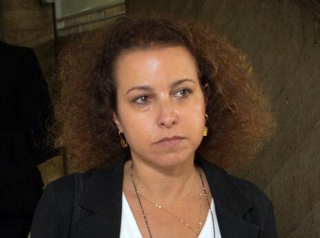 """יהודית תירוש, מנהלת מחלקת ניירות ערך בפרקליטות מחוז תל-אביב וראש צוות """"תיק 4000"""" (צילום: פלאש 90)"""