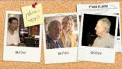"""(צילומים מקוריים שאול אלוביץ', בנימין ושרה נתניהו ואילן ישועה: משה שי, עמוס בן גרשום, לע""""מ, אורן פרסיקו)"""