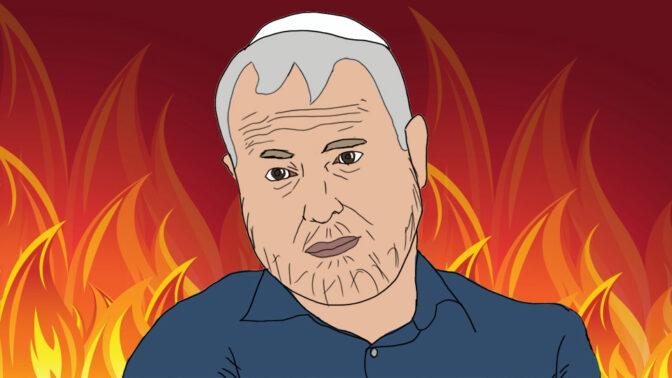 שמעון ריקלין (איור: אילה טאוסיג)