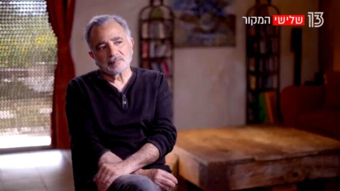 """משה איבגי בתוכנית """"המקור"""" (צילום מסך)"""