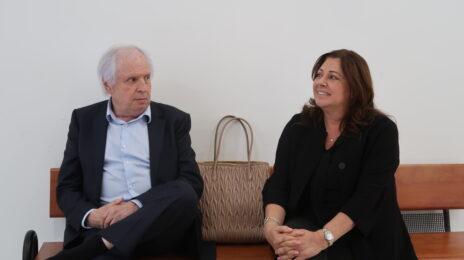 איריס ושאול אלוביץ', יוני 2021 (צילום: אורן פרסיקו)