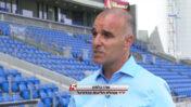 """ארז כלפון, יו""""ר מנהלת הליגות בכדורגל, בראיון בערוץ ספורט 5 (צילום מסך)"""