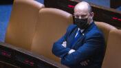 ראש הממשלה, נפתלי בנט, בכנסת. 28.6.2021 (צילום: אוליבייה פיטוסי)