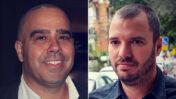 """מנכ""""ל חדשות 13 אבירם אלעד (מימין) ומנכ""""ל ערוץ 13 אבי בן-טל (צילומים: אורן פרסיקו ופלאש90)"""
