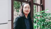 שרת הדיגיטל של טייוואן, אודרי טאנג (צילום: נחלת הכלל)