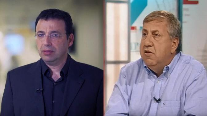 יעקב ברדוגו (מימין) ורביב דרוקר (צילומים: צילומי מסך)